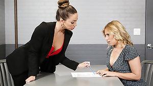Acquiring Her Buyer Off