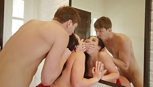 Big ass mom endures step son's learn of in really rough XXX scenes