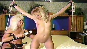 retro lesdom porn video with hot MILFs