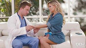 Jessa Rhodes hot MILF amazing sex with doctor