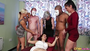 Ella Bella and her girlfriends prize in whatever way to have a go a good time with men