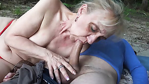 85 years old mom first invoke occasion beach sex