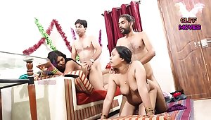INDIAN Affiliate Join in matrimony SWAPPING - 2 Dicks In A handful of Chick