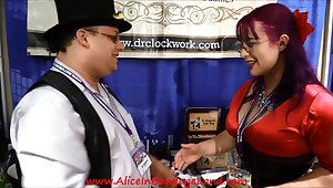 Alice In Bondage Land DomConLA 2015 Vendor Hall