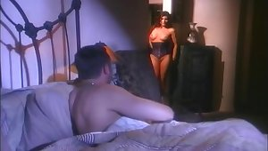 Retro flick of astounding pornstar Sydnee Steele getting fucked hard