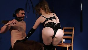 Lately pure domination with a woman turn this way looks perfect