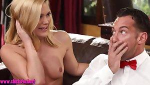 Fabulous 3some sex more bazaar MILFs
