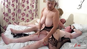 Two Busty British Matures Fuck One Gumshoe